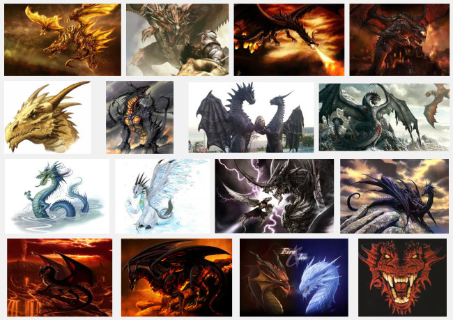 google-search-dragons