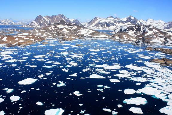 Greenland-ice