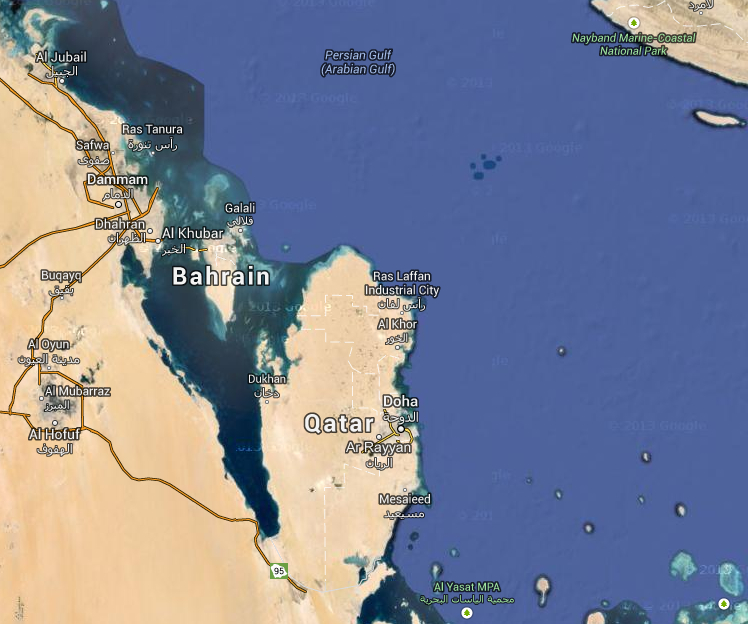 Google-map-Qatar