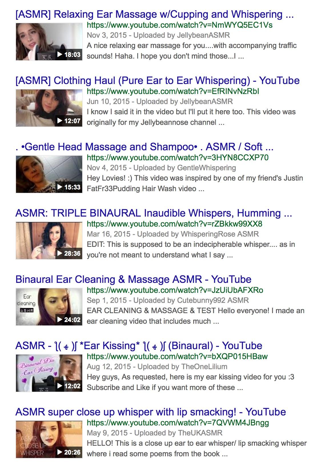 Google-search-asmr