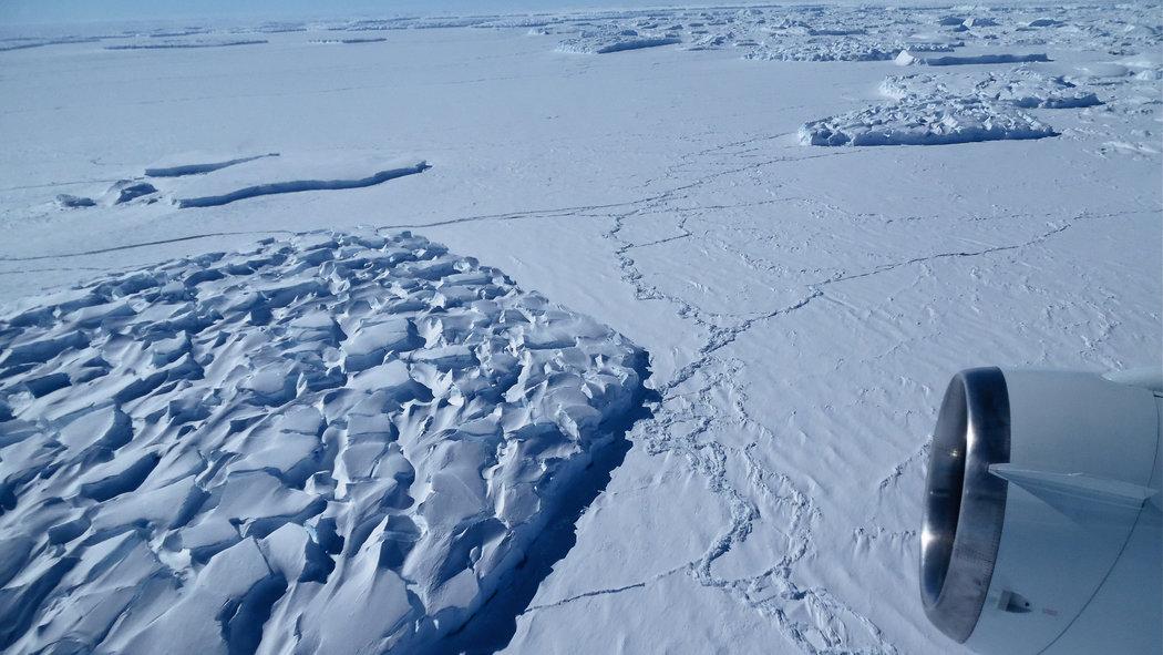 NASA-Thwaites Glacier
