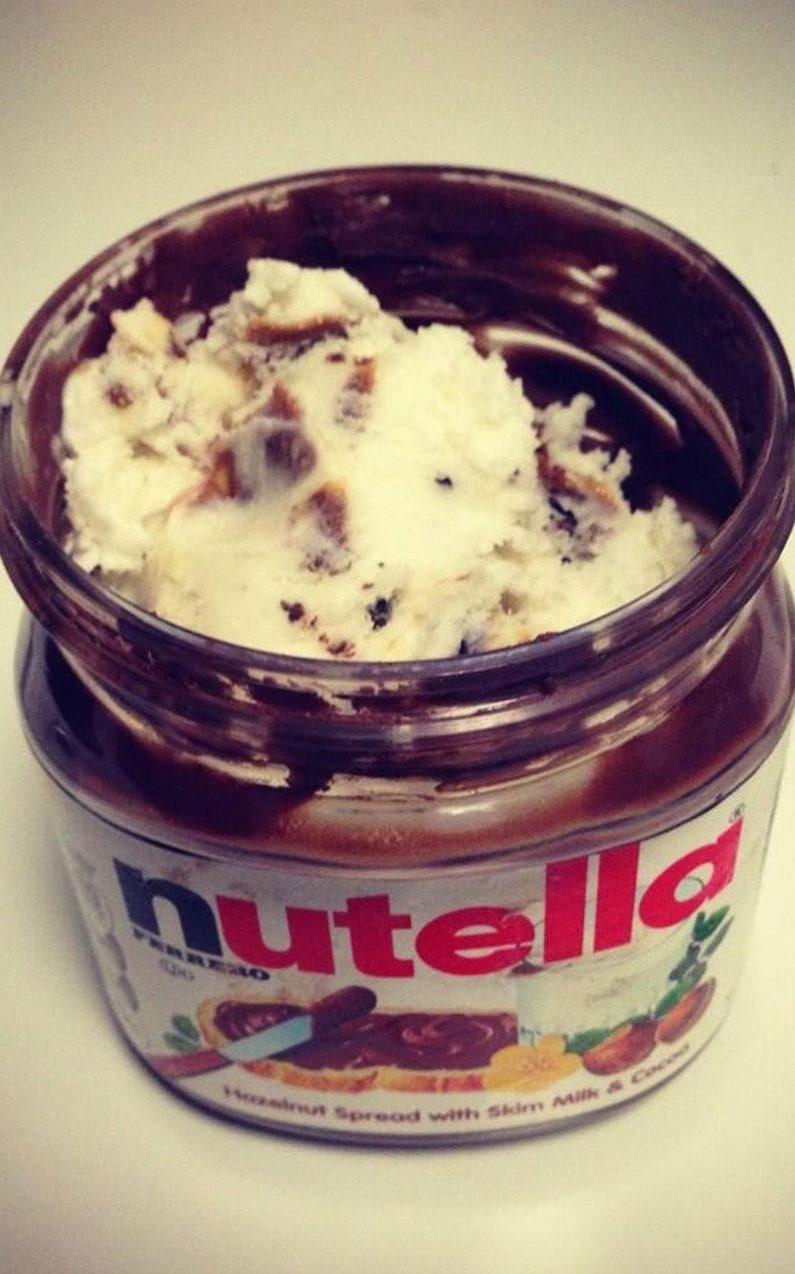 nutella-with-icecream