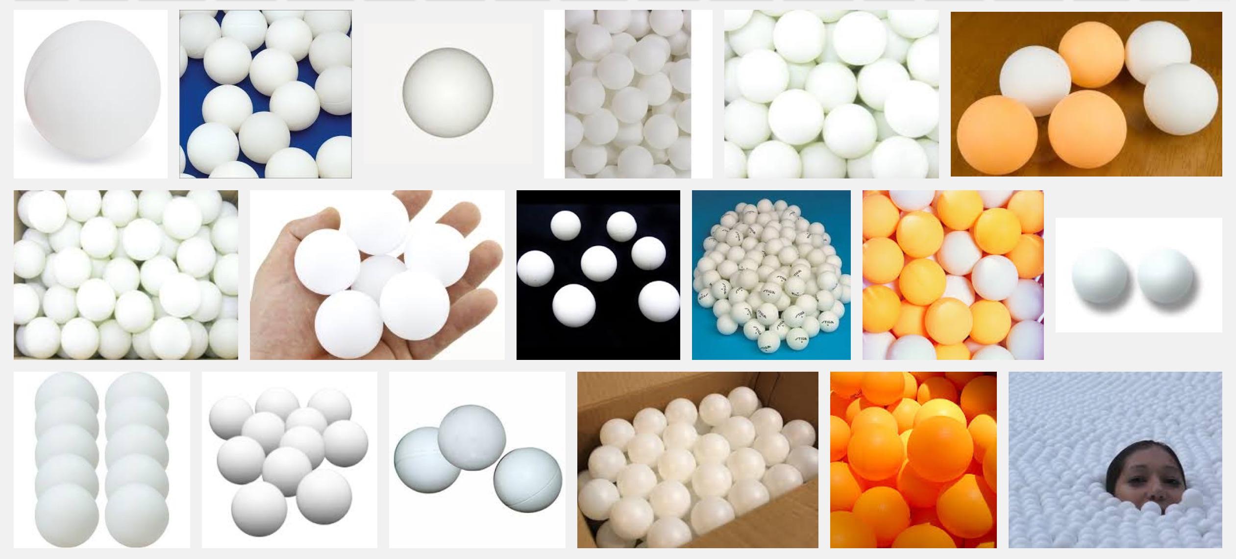 Google-search-ping-pong-balls
