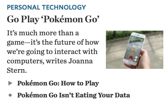 Pokemon-Go WSJ screenshot 13Jul2016