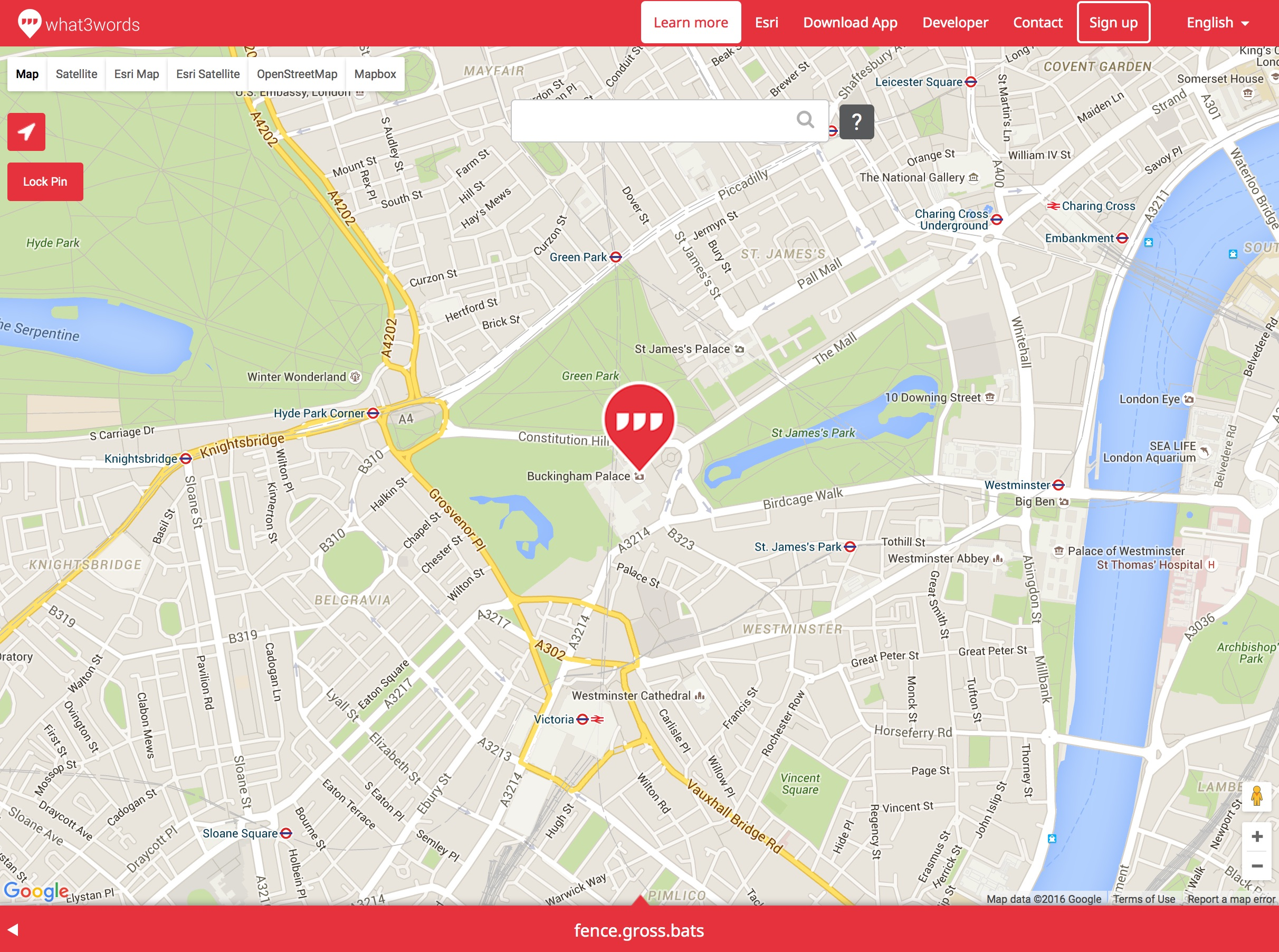 what3words-buckingham-palace