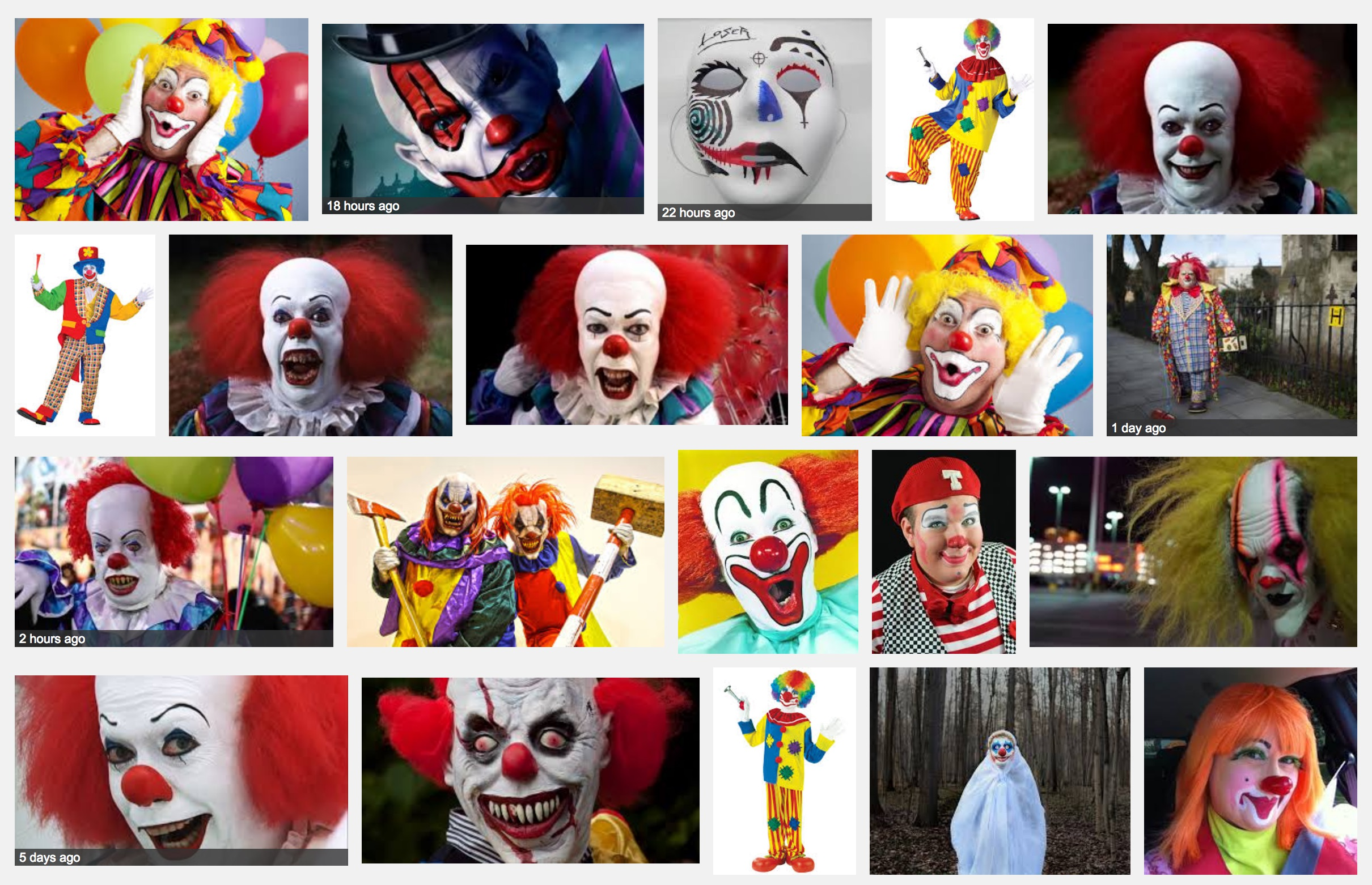 google-search-clowns